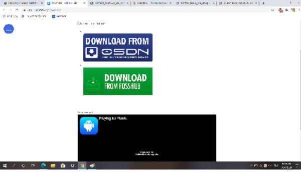 Bước 2: Cần download file ISO có chứa Android - cách cài android trên vmware