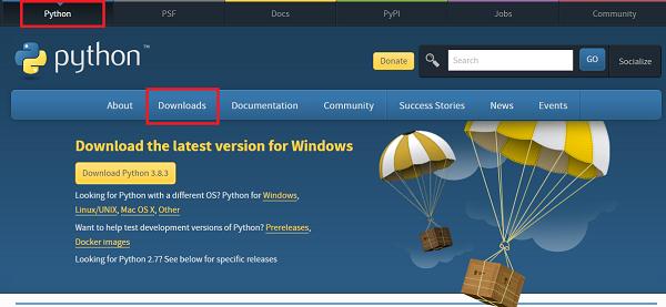 Cài đặt Python trên Windows 10