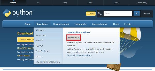 Click vào Download chọn phiên bản mới thuộc 3.8.2