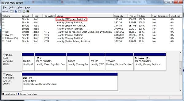 Dò tìm Boot chuẩn UEFI hay Legacy để thực hiện cài đặt đúng chuẩn