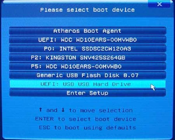 Lựa chọn UEFI-Tên_USB ch UEFI