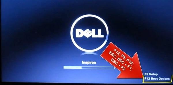 Màn hình máy tính xuất hiện thông báo cụ thể