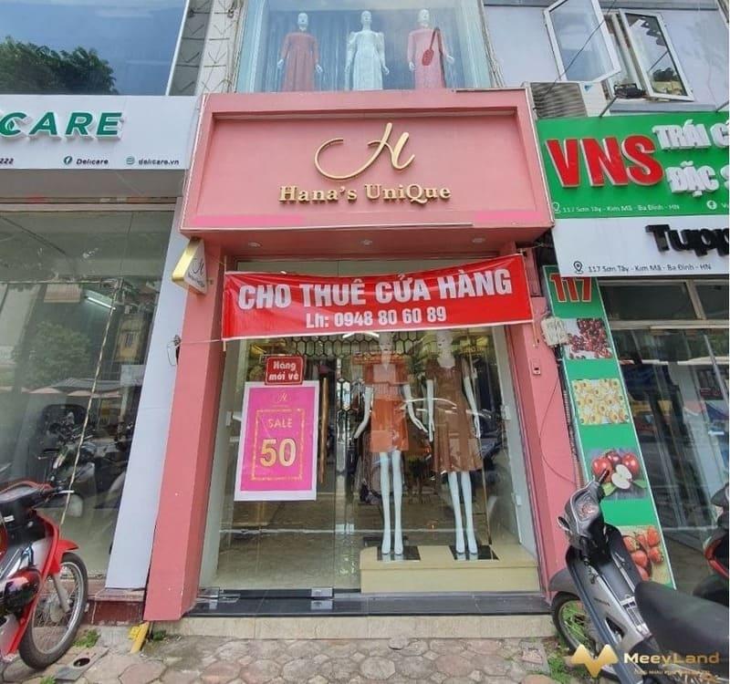 Xác định được chủ thể cho thuê nhà hàng, cửa hàng, Kiot