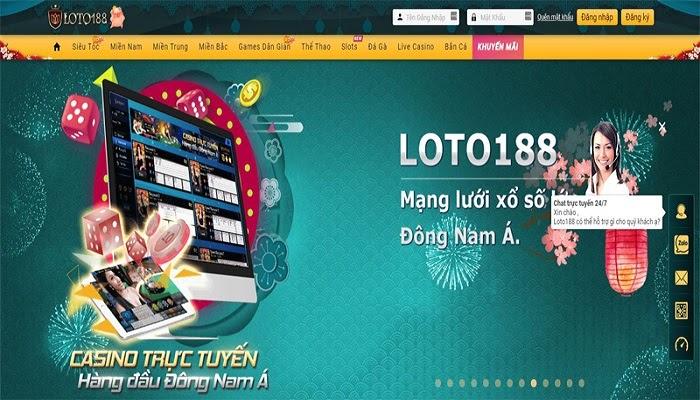 Nhà cái trực tuyến Loto188