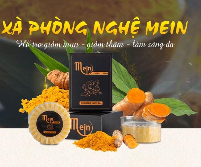 Loại xà bông đến từ thương hiệu MEIN còn giúp hỗ trợ điều trị các loại mụn