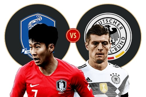 Bóng đá Đức và Hàn Quốc đang nhận được sự quan tâm của đông đảo mọi người