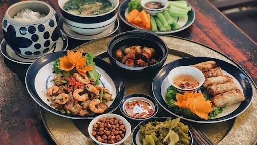 Thấy ăn cơm cùng với các món ăn thì nên đánh số nào?